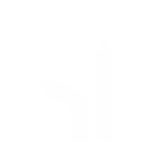 Ícone - Duas opções de passagem de fio e adaptação a tubos